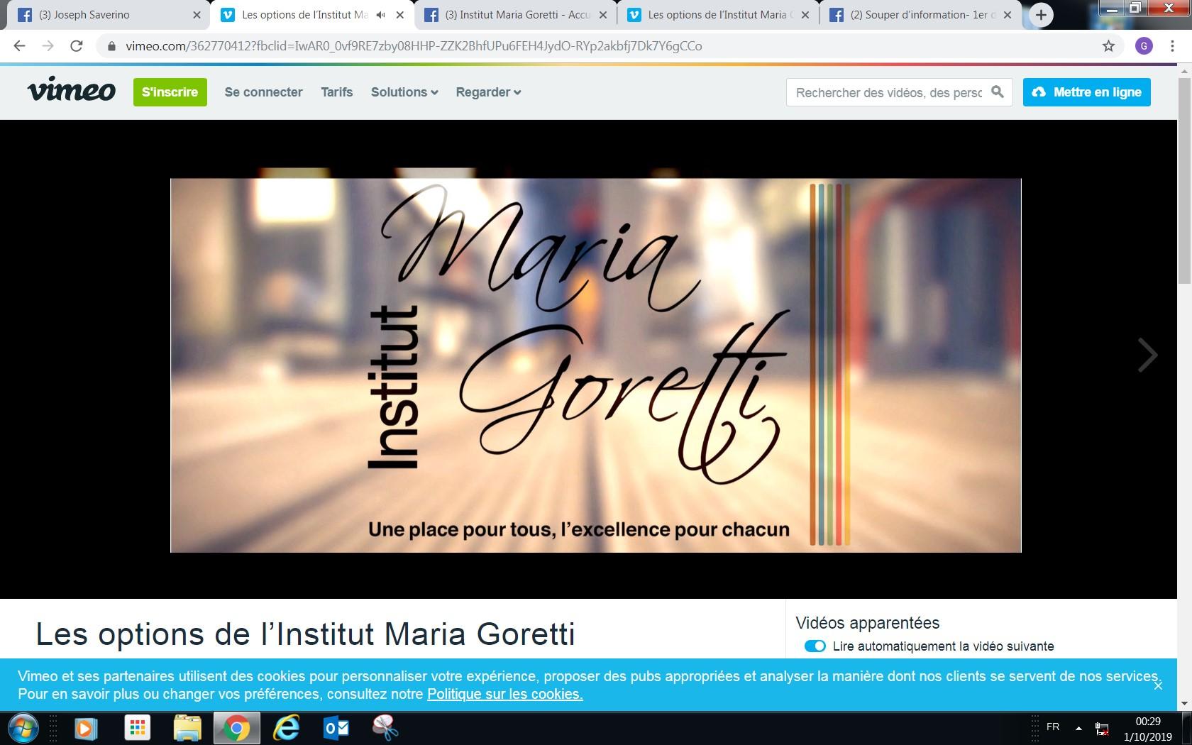 Découvrez les options de Maria Goretti
